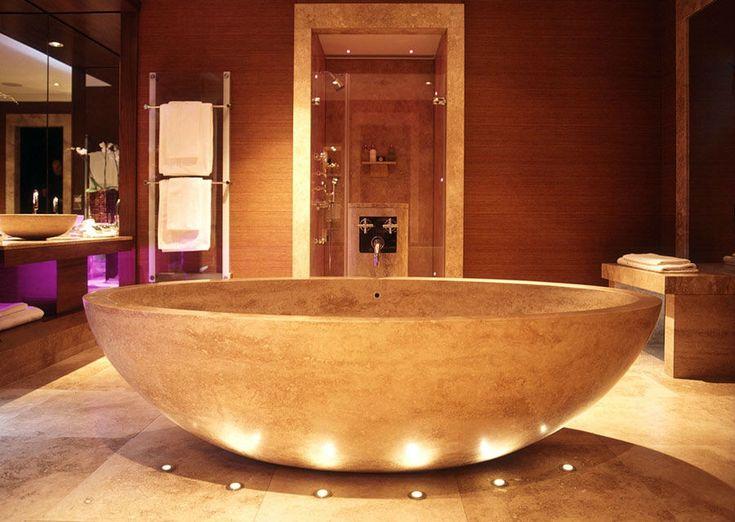 Besten luxusbäder bilder auf natursteine badezimmer
