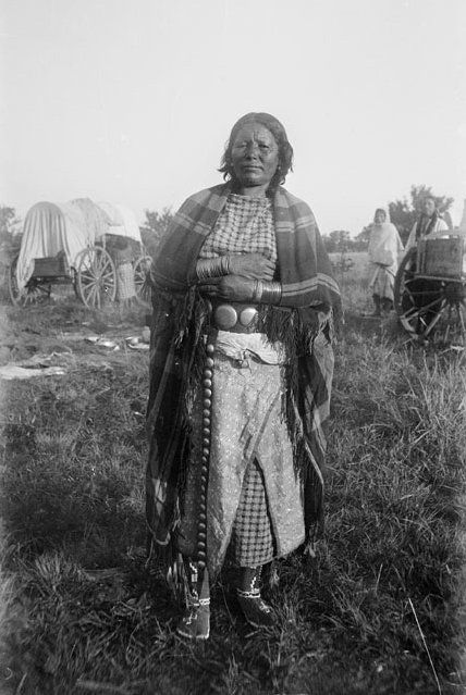 American Indians : Hodetaide - Kiowa 1892.