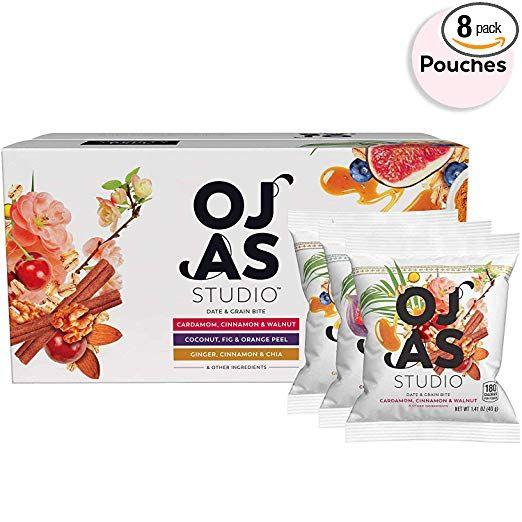 Amazon Com Ojas Studio Date Grain Bites 3 Flavor Variety Pack
