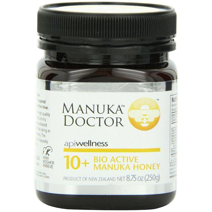 Manuka Doctor, Apiwellness, 10+ Bio Active Manuka Honey, 8.75 oz (250 g)…