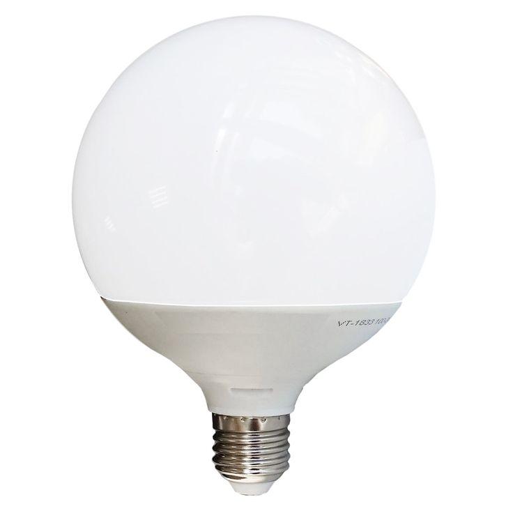 Lampada LED 13W G120 E27 BiancoSolare adatta alla sostituzione delle tradizionali G120 a incandescenza. Ottima resa cromatica, luce brillante e omogenea