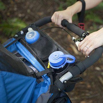 Infant Stroller Organizer Cup Holder Large Storage Bag Stroller Accessories