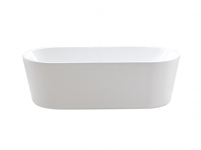 Bath looking at round corners and also 1700mm length Posh Solus 1780 Freestanding Bath
