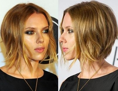 Best ideas for Cute messy inverted bob, posted on April 8, 2014 in Celebrities…