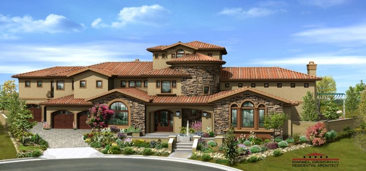 26 best home exterior paint colors images on pinterest for Tuscan roof design
