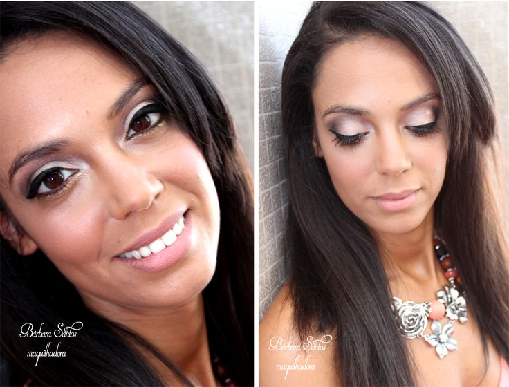 Glitter Bride (bright gold glitter on the lower lash line) - lovely look and would look nice even without the glitter for a more traditional occasion.