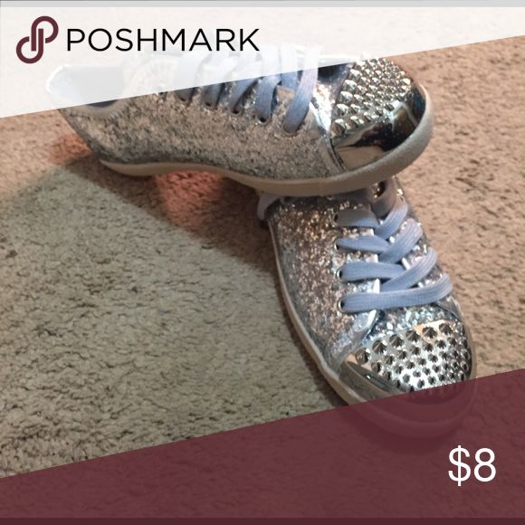 Bamboo Sneakers If you want to be fun and different, these are the shoes for you! They have spikes and sparkle, best of both worlds! Shoes Sneakers
