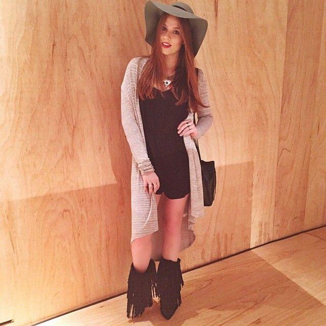#LookFerrucci da modelo Flavia Charallo