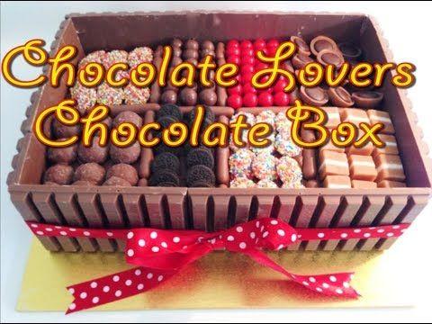 Easy chocolate box cake recipes