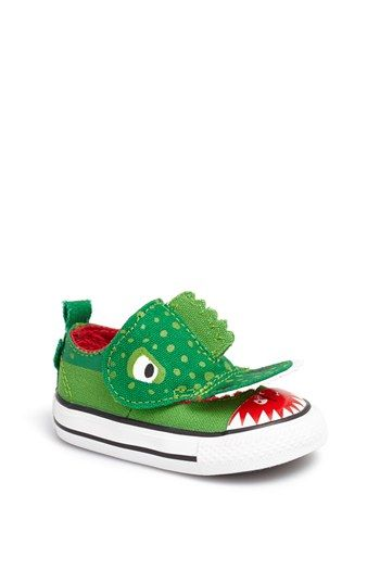 Converse Chuck Taylor® All Star® 'No Problem - Alligator' Sneaker (Baby, Walker & Toddler) (Pop-In Shop) available at #Nordstrom