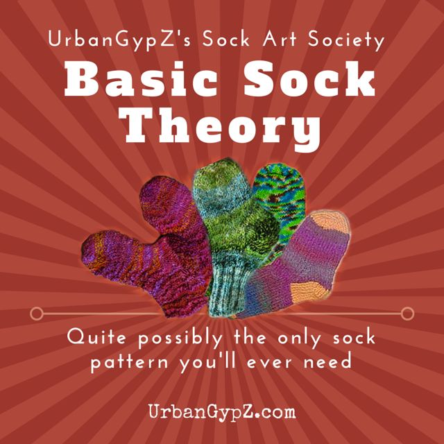 Learn how to knit socks with this super versatile pattern. It is the only pattern I ever use.
