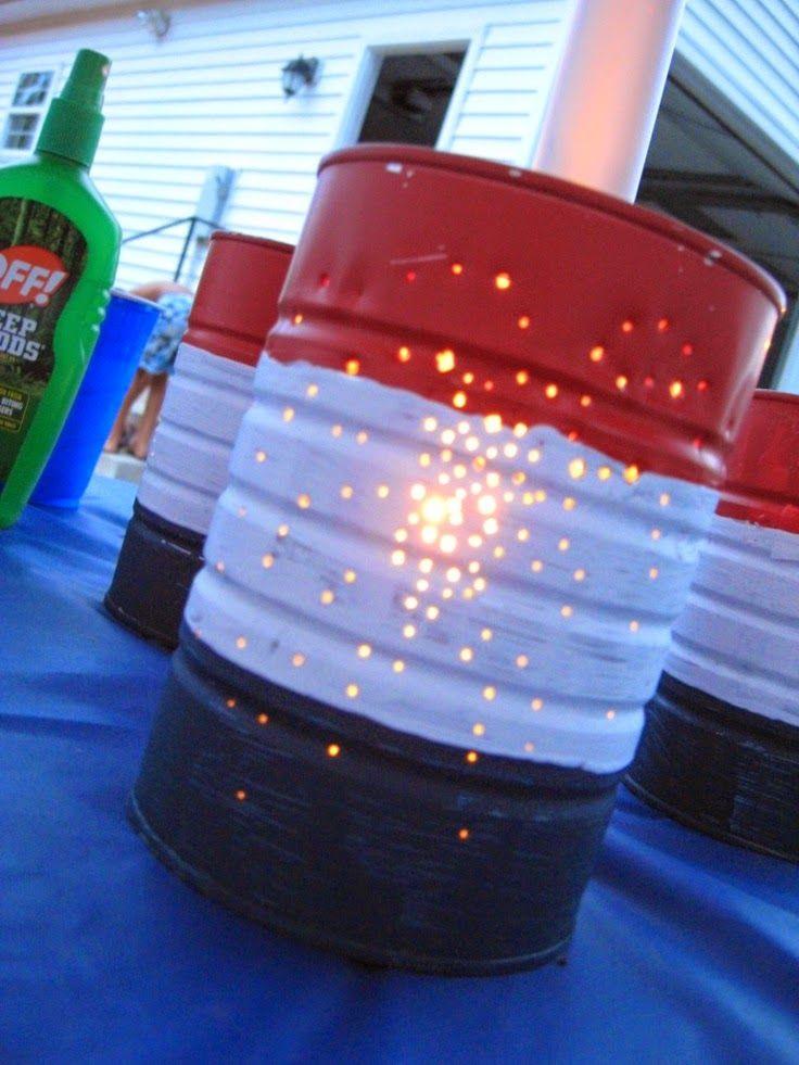 DIY July 4th Decoration Idea