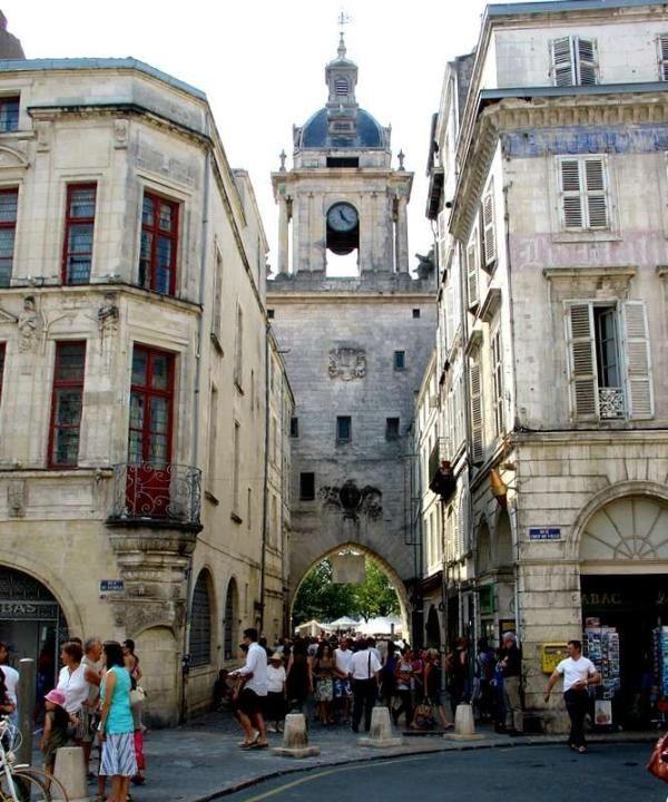 la Rochelle France clock - http://www.visit-poitou-charentes.com/en/La-Rochelle-Ile-de-Re/La-Rochelle