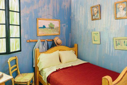 シカゴ美術館「ゴッホの寝室」
