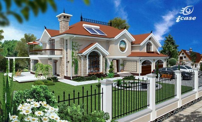 Detaliu proiect de casa - Casa cu ETAJ CL 001   Proiecte case, proiecte de case, proiecte vile, proiecte de casa, planuri case, planuri de case, planuri casa, house project, residential projects, interioare, amenajari