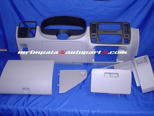 94 96 Impala Ss Caprice 9c1 Lower Dash Set Reconditioned Gray 94 95 96