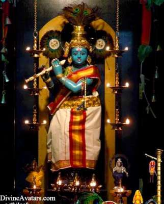 Lord Sri Krishna Photo Gallery - Divine Avatars