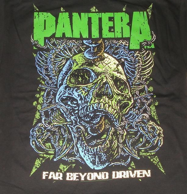 Pantera Far Beyond Driven T Shirt Mens Extra Large XL Official Metal New #Bravado #GraphicTee