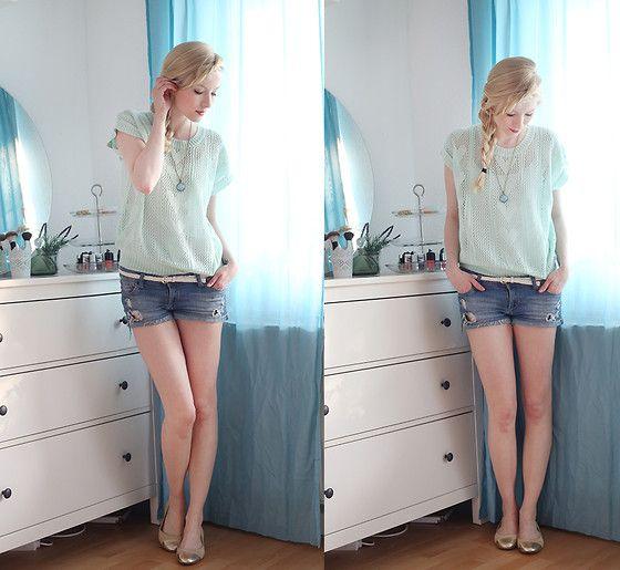 I Any Wear Shirt, H&M Shorts, H&M, Görtz, Anoa Art