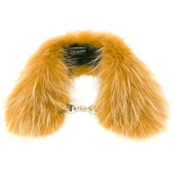 Yves Salomon marmot fur scarf ($255) ❤ liked on Polyvore featuring accessories, scarves, fur scarves, yves salomon and fur shawl