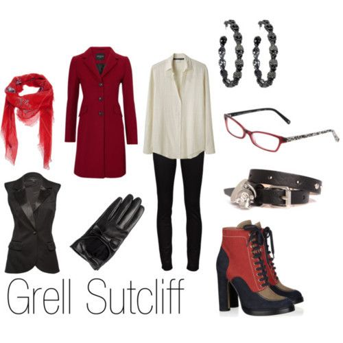 Casual cosplay Grell Sutcliff (Black butler) | ~Anime Inspired Modern Clothing~ | Pinterest ...