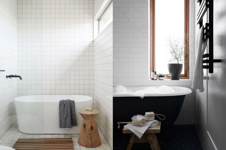 17 beste idee n over witte tegels op pinterest tegel wandtegels en keuken wandtegels - Deco witte tegel ...