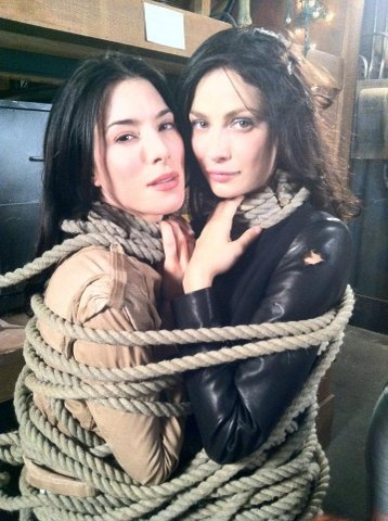 JoAnne Kelly & Jaime Murray. Great shot!