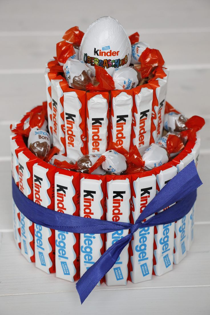 Kreatives Geburtstagsgeschenk: Anleitung für einen Kids Bar Pie   – Kids Stuff
