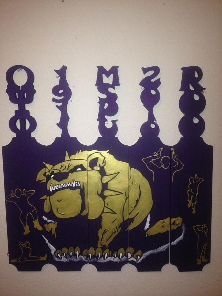 Omega Psi Phi paddles