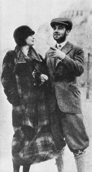 Hanson was a silent film actor, he was in Joyless Street with Greta. It was rumored that they had an affair in late 1924.