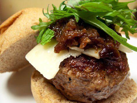 Lamb burgers, Lamb and Marmalade on Pinterest