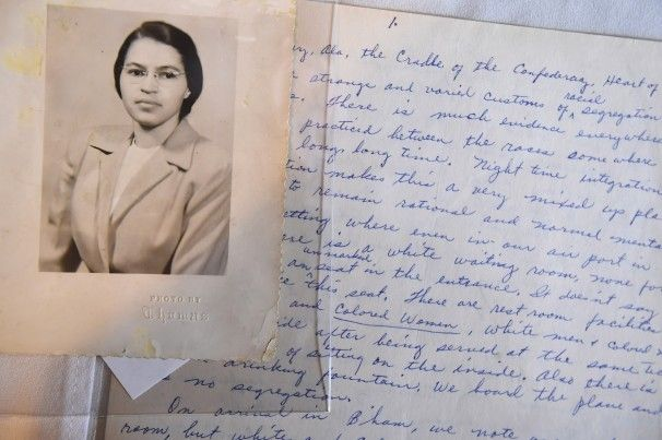 Artifacts show a Rosa Parks steeped in freedom struggle from childhood