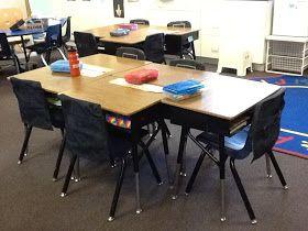 Classroom DIY: DIY Classroom Pocket Chair Covers