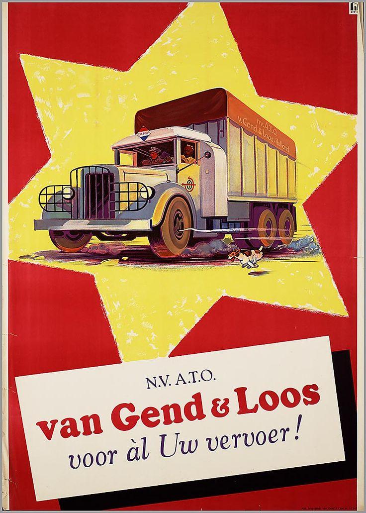 N.V. A.T.O. Van Gend & Loos voor al Uw vervoer.