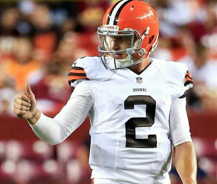 Johnny Manziel!  Cleveland Browns #Qb!