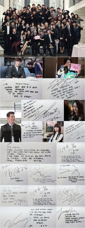 THE HEIRS and the staffs♡ #Kdrama // The #HEIRS // Aigooo. Last episode of The Heirs. -.- I will surely miss this korean drama.