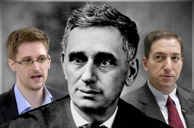 The empire strikes back: How Brandeis foreshadowed Snowden and Greenwald