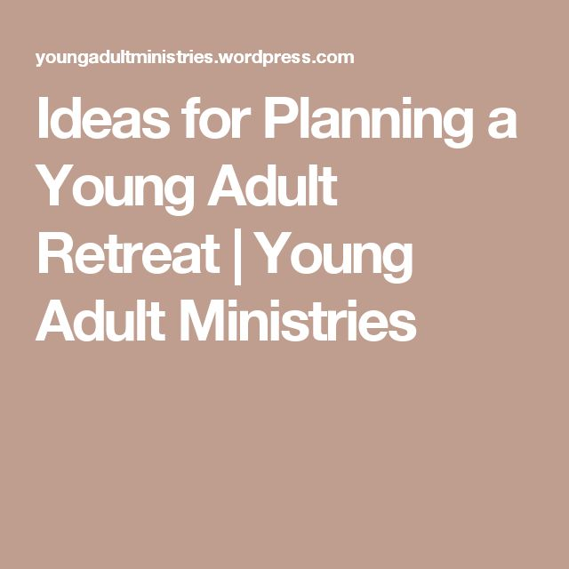 Ideas for a christian adult retreat