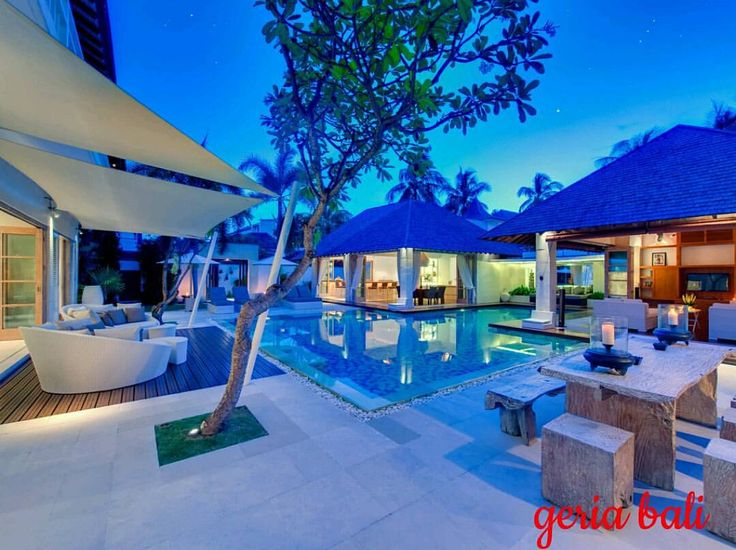 hidden #paradise in the heart of vibrant and sophisticated #Seminyak on Bali's southwest coast. #Stylish, comfortable and perfect for families with children, this elegant four-bedroom villa is just a...
