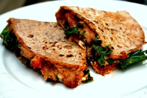 It's not what you think, it's what you taste -- and taste is what you will do with these amazing White Bean Vegan Quesadillas