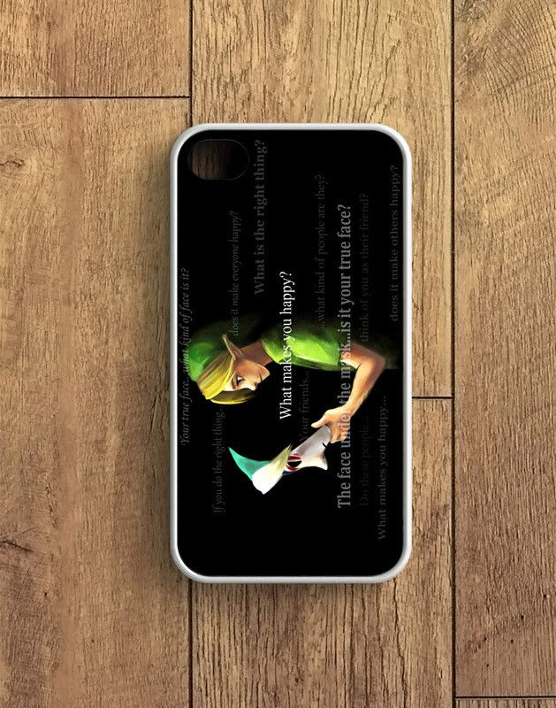 Zelda And Majora Mask Quotes iPhone 4 | 4S Case