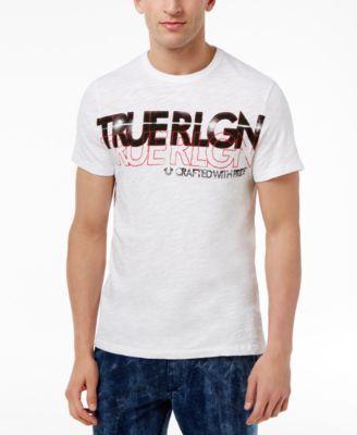 TRUE RELIGION True Religion Men'S Retro Logo Cotton T-Shirt. #truereligion #cloth #shirts