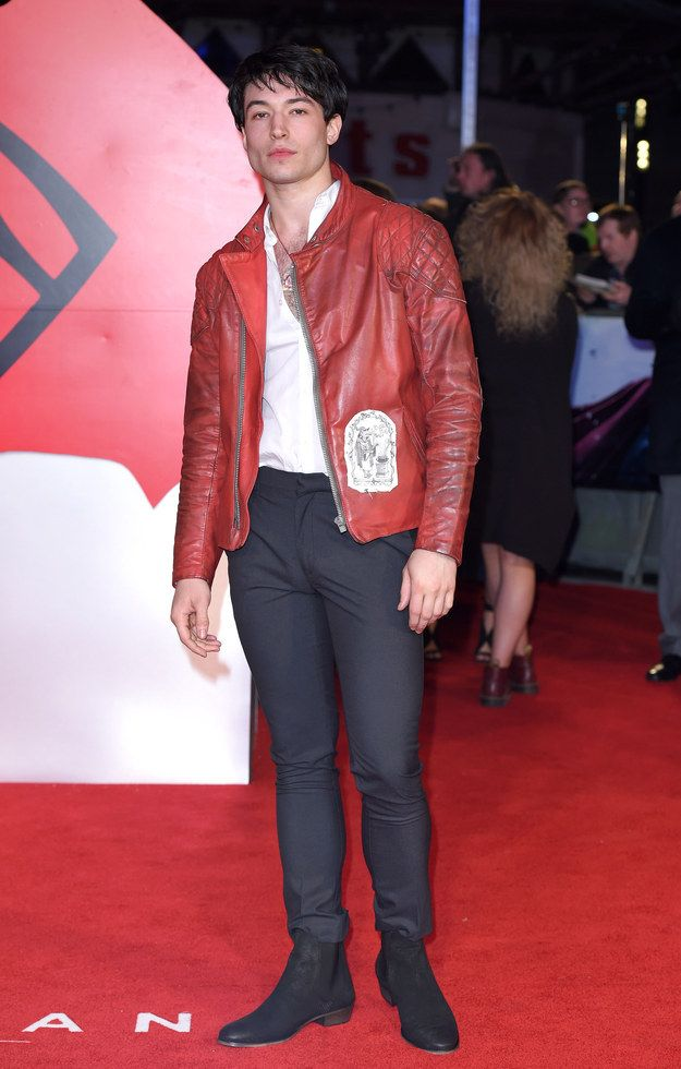 If you can't wait until 2017 to see that, rest assured that The Flash makes a cameo in Batman v Superman. | Ezra Miller Has Bulked Up And It's Too Much To Handle