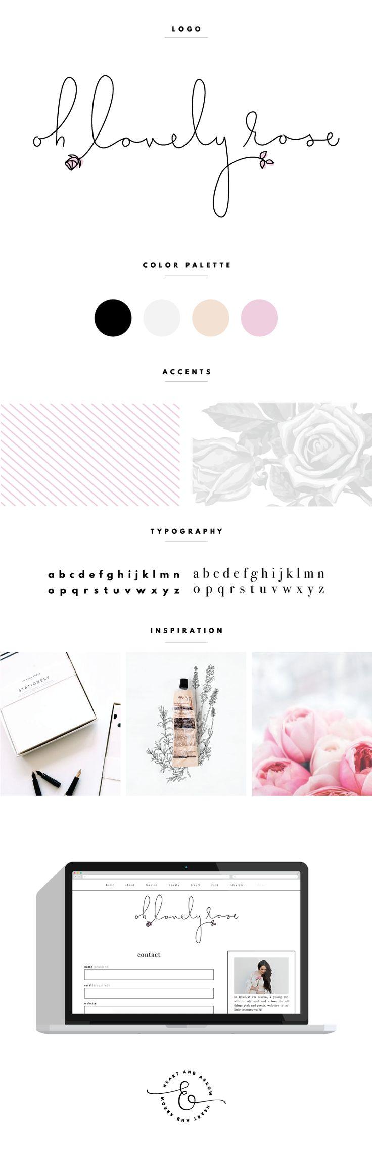 Oh Lovely Rose Brand Board