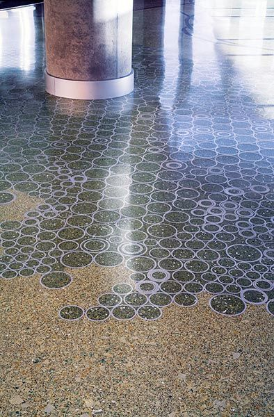 17 best images about terrazzo on pinterest shopping mall for How to remove stains from terrazzo floors