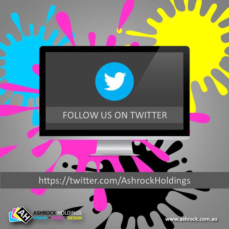 Follow us on #twitter @ https://twitter.com/ashrockholdings