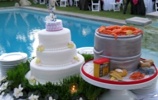 maryland wedding cake forward crab cake anyone old bay wedding cake