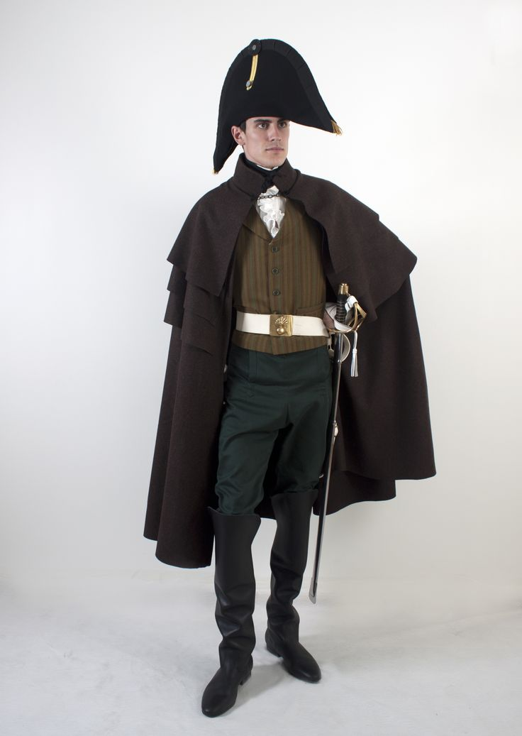 Early 1800's officer in Jane Austen theme. Project by students for Tjolöholms Castle.
