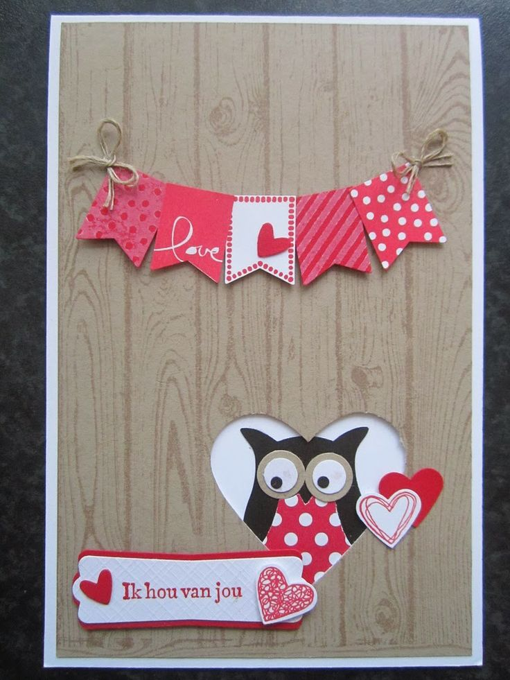 Valentine with Owl Builder and Banner Blast by Stampin Jacqueline