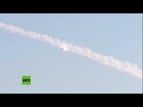 III GUERRA MUNDIAL Lanzamiento de misiles Kalibr desde el submarino ruso